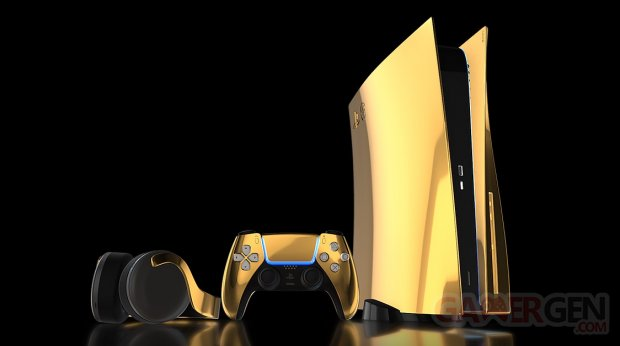 PS5 PlayStation 5 24K Gold or Truly Exquisite pic 1