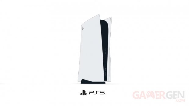 PS5 PlayStation 5 hardware console head banner pictogramme
