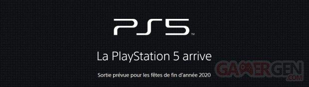PS5 PlayStation 5 logo head banner