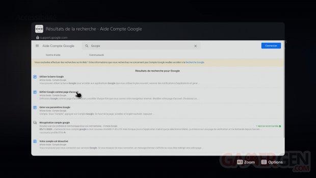 PS5 PlayStation 5 Tuto navigateur internet images explications (12)