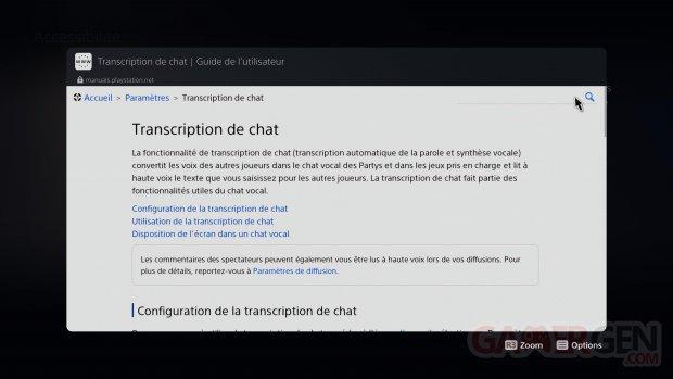 PS5 PlayStation 5 Tuto navigateur internet images explications (6)