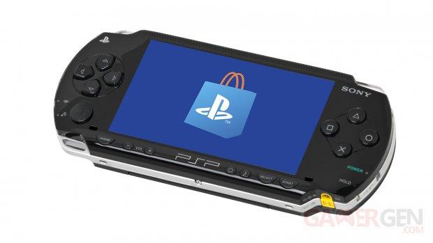 PSP Store Fermeture