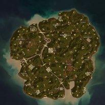 PUBG Season8 Map Sanhok Minimap