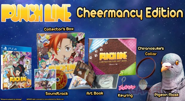 Punch Line collector's edition