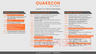 QuakeCon at Home programme complet