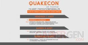QuakeCon at Home programme