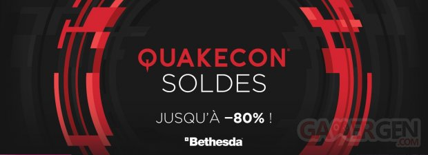 QuakeCon Soldes page bg french