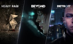 QUANTIC DREAM PC Epic Games Store Beyond Detroit Heavy Rain