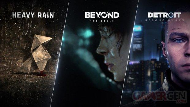 QUANTIC DREAM PC Epic Games Store Beyond Detroit Heavy Rain