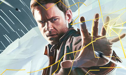 Quantum Break Gameinformer cover