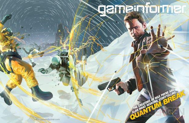 Quantum Break Gameinformer cover
