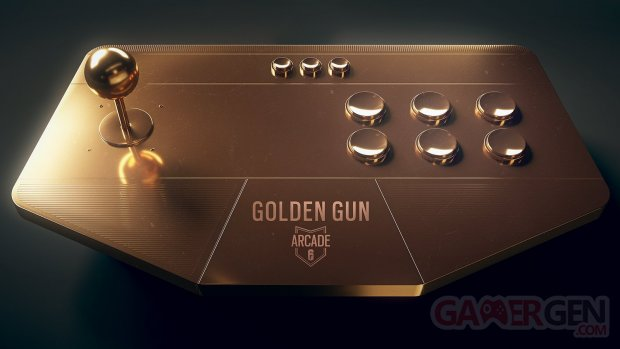 Rainbow Six Siege Golden Gun