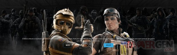 Rainbow Six Siege Opération Burnt Horizon Agents