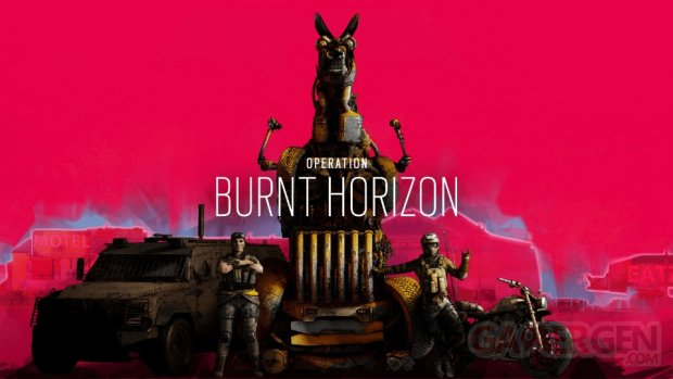 Rainbow Six Siege Opération Burnt Horizon