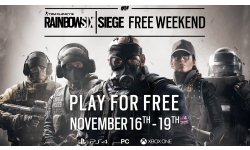 Rainbow Six Siege un nouveau week end gratuit