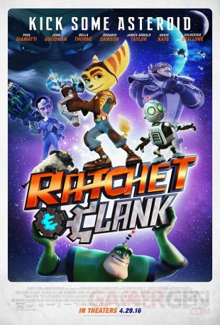 Ratchet & Clank movie 10 02 2016 poster