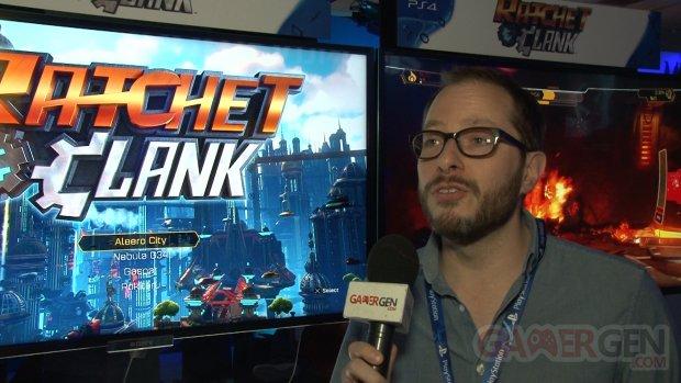 ratchet clank ps4 interview Chad Dezern,