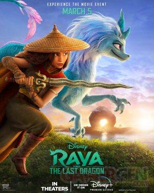 Raya et le dernier dragon poster 26 01 2021