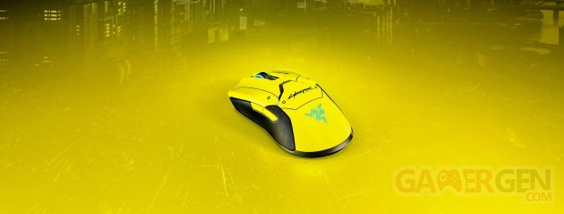 Razer Viper Ultimate avec station d'accueil   Cyberpunk 2077 Edition