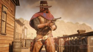 Red Dead Online poncho prieto