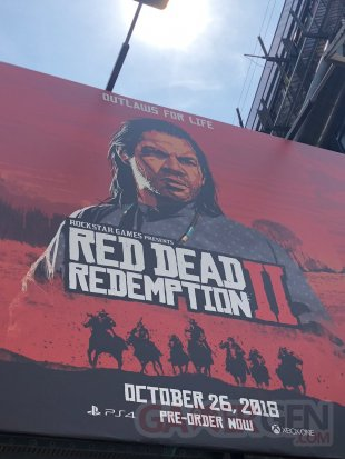 Red Dead Redemption 2 affiche murale Charles Smith 06 08 2018