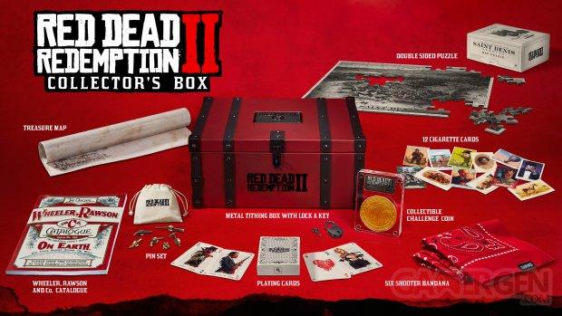 Red Dead Redemption 2 éditions Collector Ultime Spéciale bonus de précommande (4)