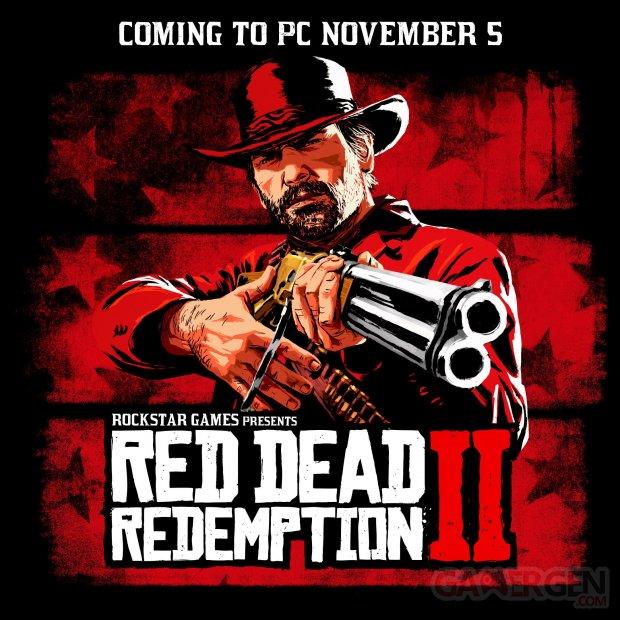 Red Dead Redemption 2 PC Date de sortie
