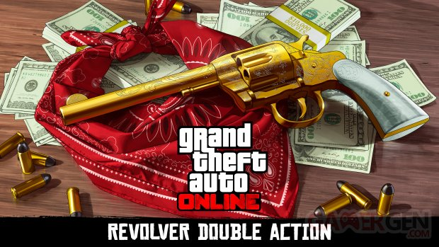 Red Dead Redemption 2 Revolver Double Action