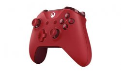 Red Xbox One Controller Manette Rouge 03 01 2017 pic 1