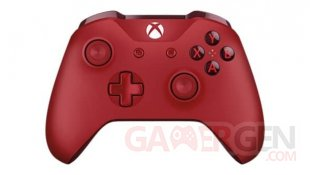 Red Xbox One Controller Manette Rouge 03 01 2017 pic 4