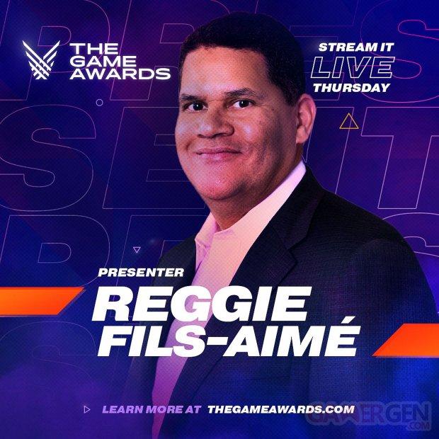 Reggie Fils Aime image game awards 2019 images