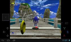 reicast screenshot emulateur dreamcast sonic