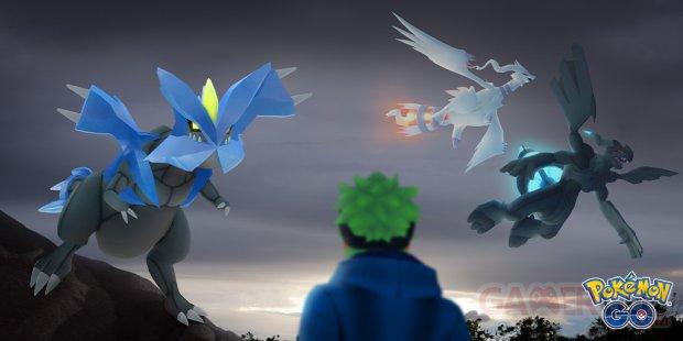 reshiram zekrom kyurem raids Pokémon GO