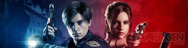 Resident Evil 2 Bannière