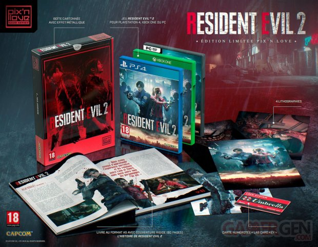 Resident Evil 2 collector 07 01 2019