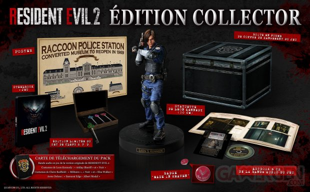 Resident Evil 2  EditionCollector BEAUTYSHOT FRHD