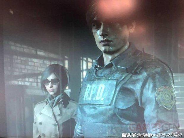 Resident Evil 2 images leak fuite ada wong