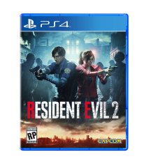 Resident Evil 2 jaquette cover 1