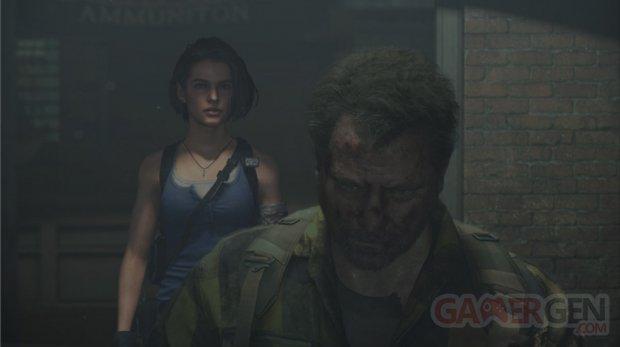 Resident Evil 2 Jill Valentine Robert Kendo screenshot