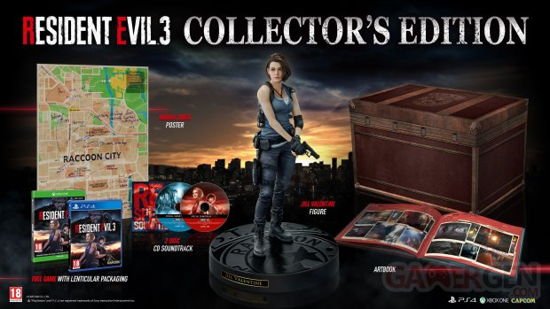 Resident Evil 3 Edition Collector Europe
