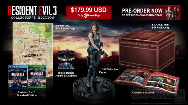 Resident Evil 3 Remake 10 12 2019 collector