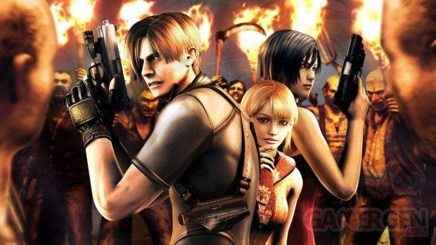Resident Evil 4 head banner