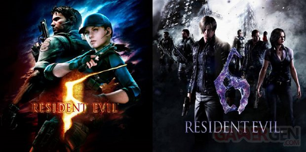 Resident Evil 5 6 Switch
