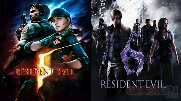 Resident Evil 5 et 6 edition switch demo