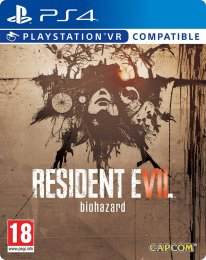resident evil 7 steelbook PS4 jaquette cover