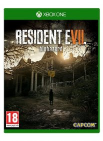 resident evil 7 xbox one jaquette cover