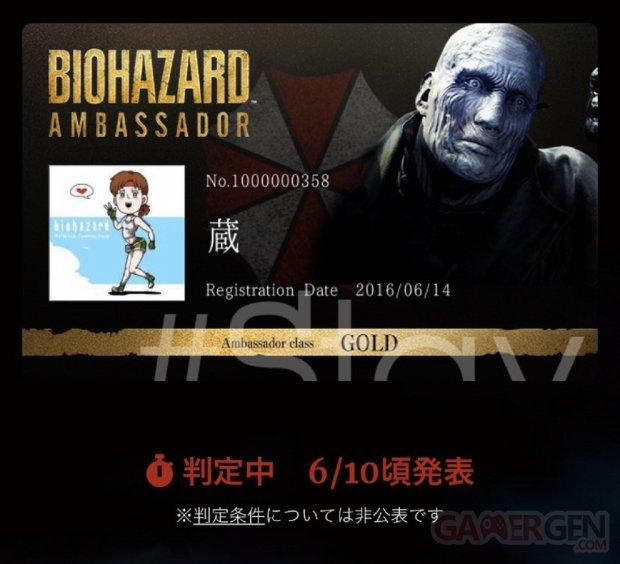 Resident Evil Ambassadeur
