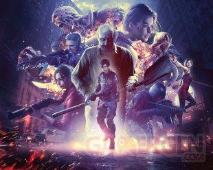 Resident Evil BioHazard 25th Anniversary key art HD fond d'écran wallpaper