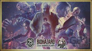 Resident Evil BioHazard 25th Anniversary key art HD