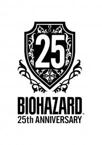 Resident Evil BioHazard 25th Anniversary logo
